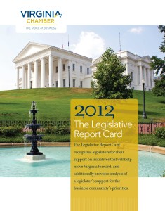 2012 Legislative Report Card