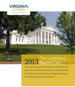 2013 Legislative Report Card